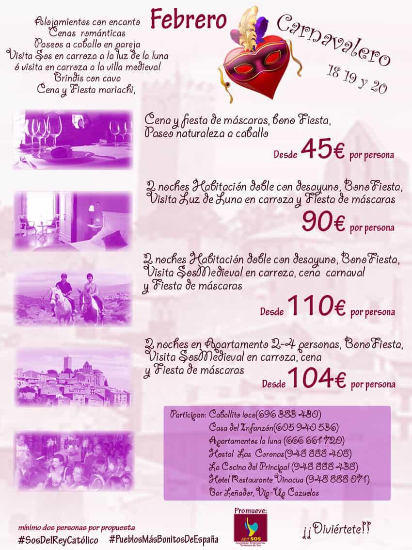 Turismo romántico en Sos del Rey Católico